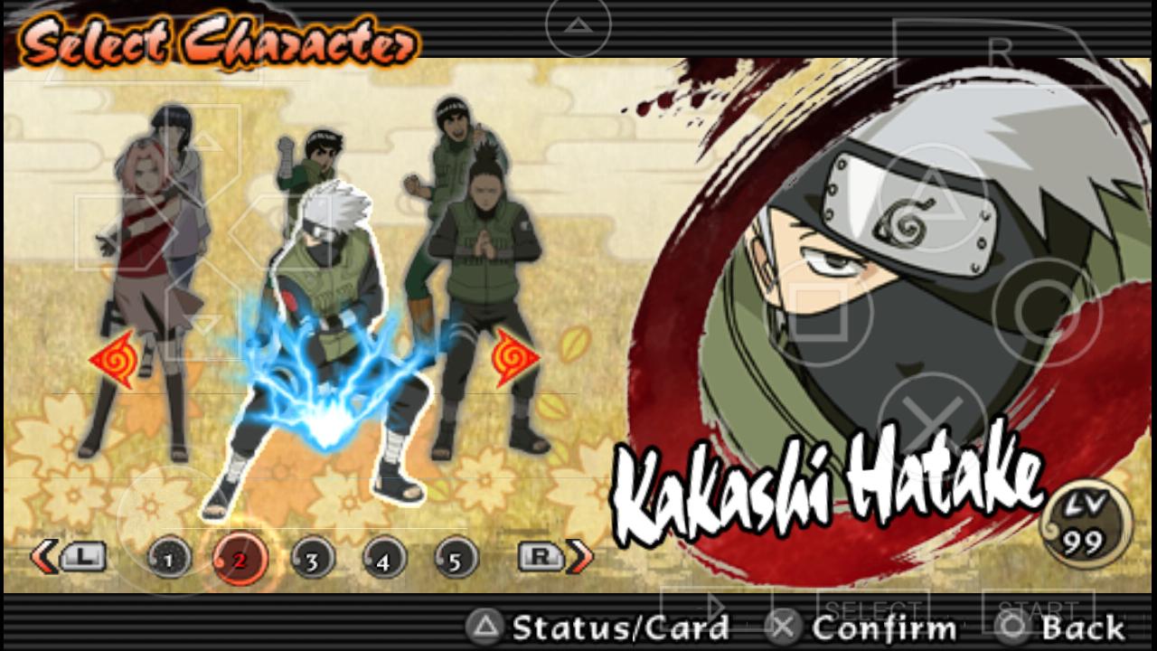 Naruto - ultimate ninja heroes 2 savedata
