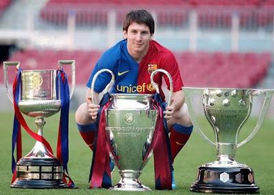 Messi triplete