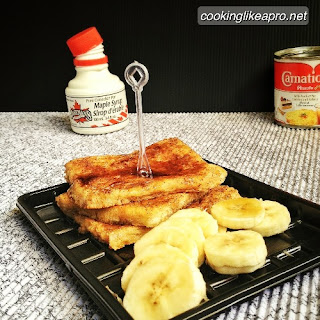 Cooking French Toast-inspired Toasts