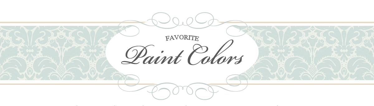 Favorite Paint Colors: Top 10 Favorite Warm Gray Paint Colors