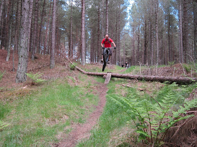 Popped out above the beach then more brilliant sandy single track. & coastrider: A Day Trip to Tentsmuir in Fife...