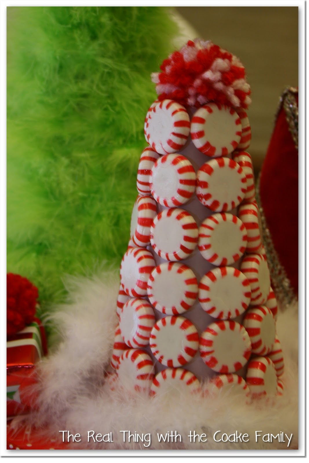 Table Decorating Ideas ~ Christmas Centerpiece & Table Decorating Ideas ~ Christmas Centerpiece - The Real Thing with ...