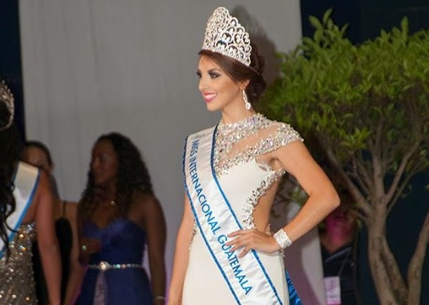 Miss Guatemala 2014 winner Ana Luisa Montufar Urrutia