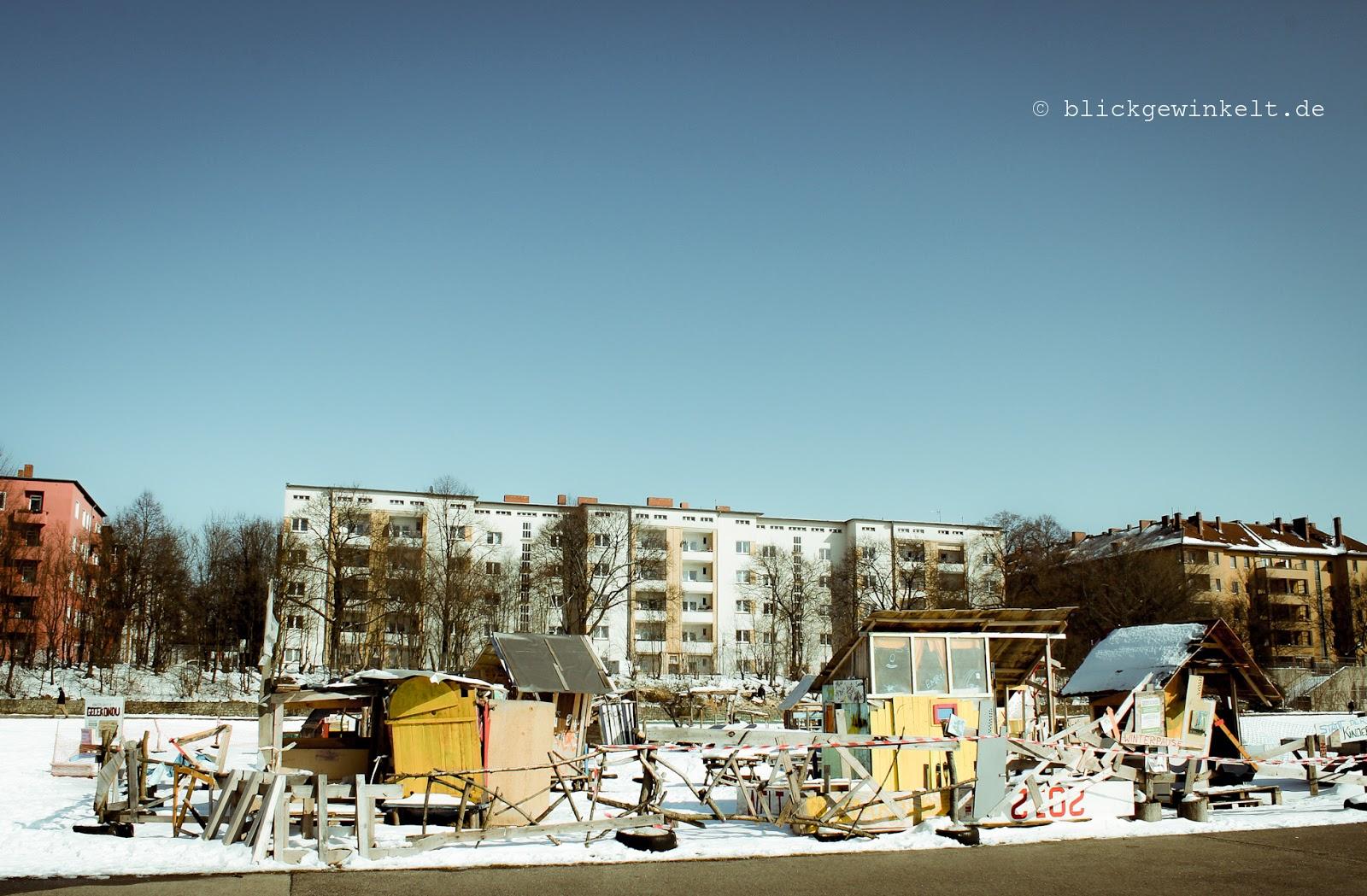 Guerilla Garten, Spielplatz, Tempelhofer Feld, Berlin