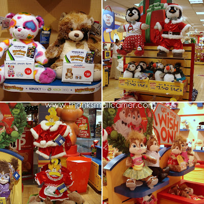 Build-a-Bear holiday