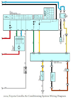 Wiring Diagrams - 2004 Toyota Corolla Air Conditioning System Wiring Diagram