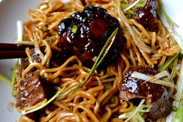Braised Oxtail Noodles 7 | Chinese Recipes