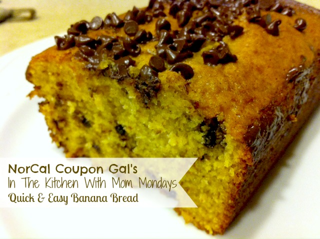 In The Kitchen With Mom Mondays: Quick and easy banana bread