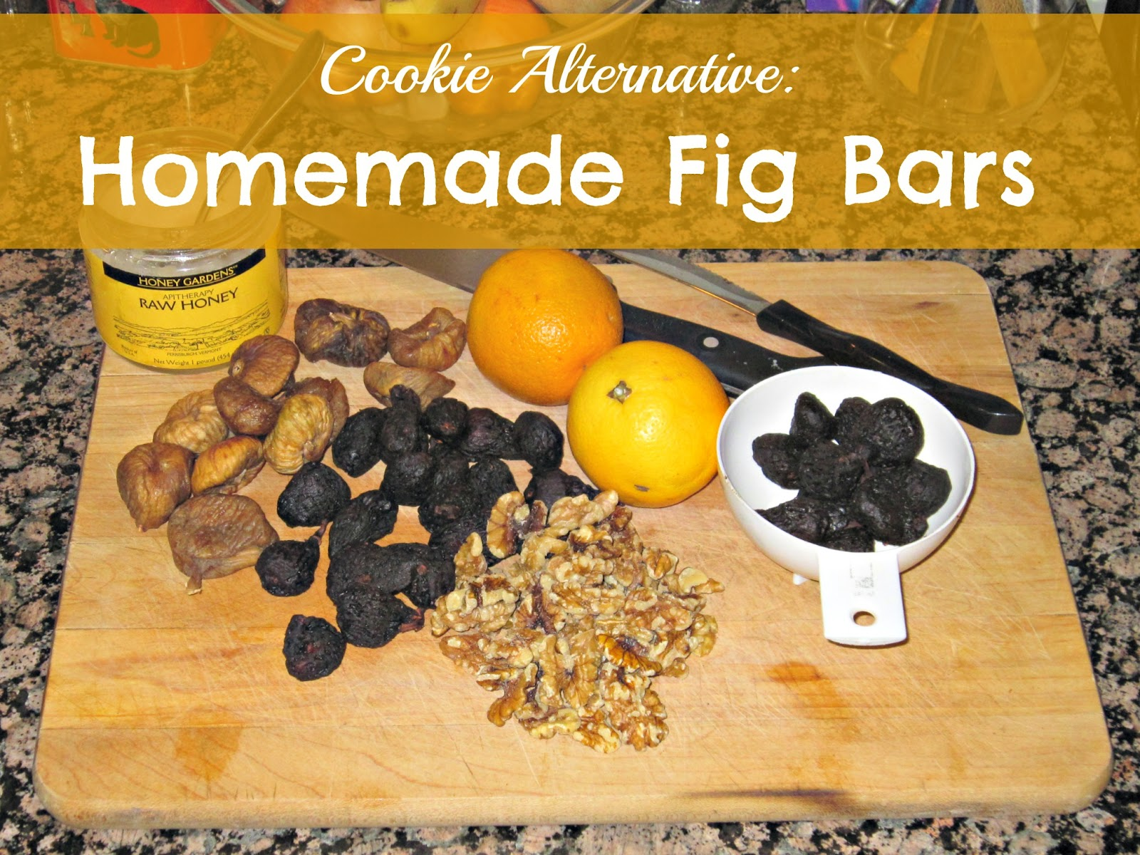 Homemade Fig Bar Recipe