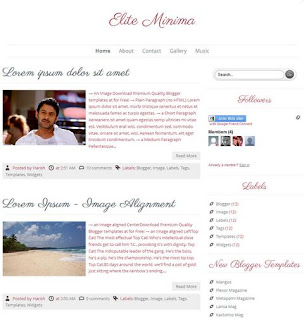 Labnol Style Responsive Blogger Template