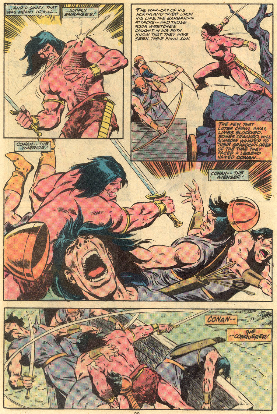 Conan the Barbarian (1970) Issue #120 #132 - English 18