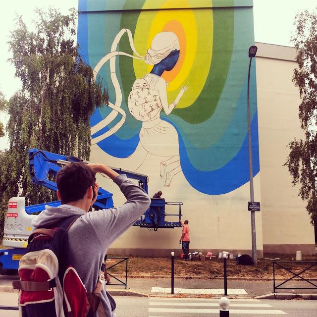 Street Art By Seth In Rennes, France For Teenage Kicks Urban Art Festival. 6
