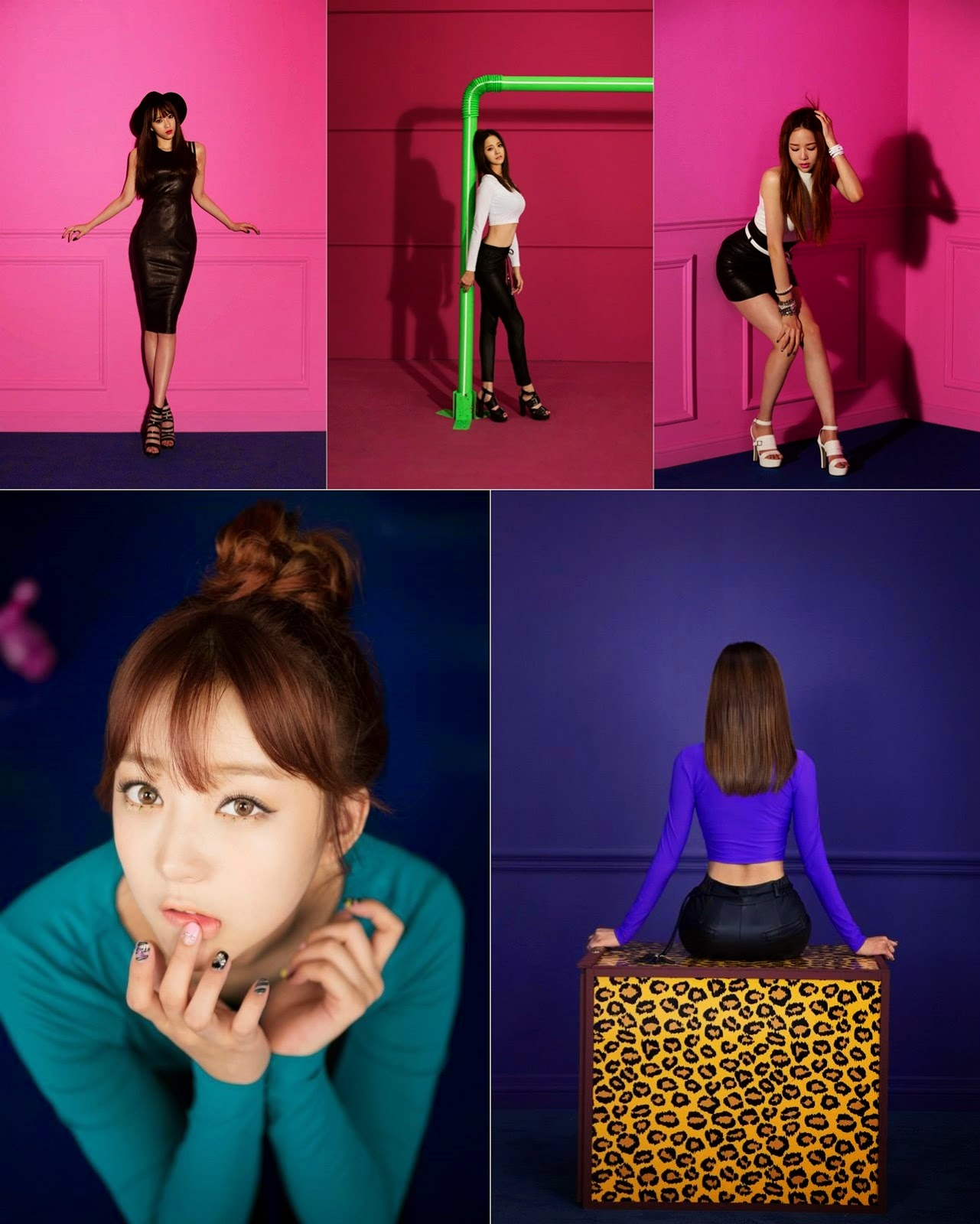 EXID release solo teaser photos for 'Top Bottom'