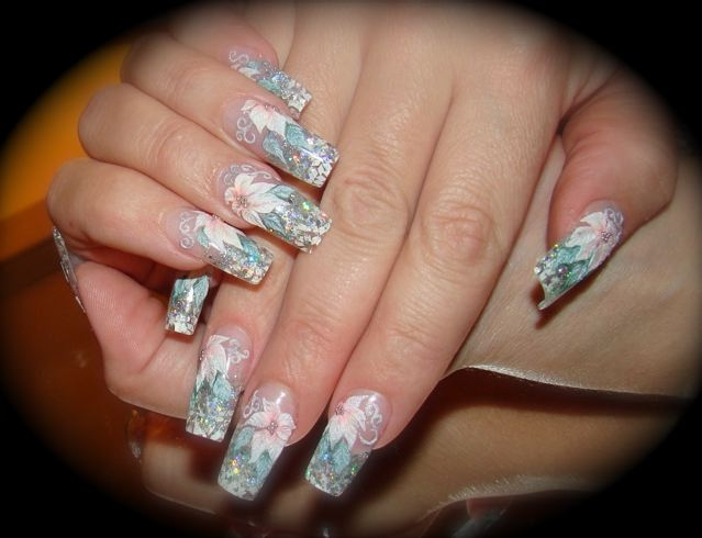 Make your nails look elegant and stylish nail designs in case you want to make some gorgeous flowers on your nails then this is the ultimate nail design that will provide you excellent flowers prinsesfo Gallery