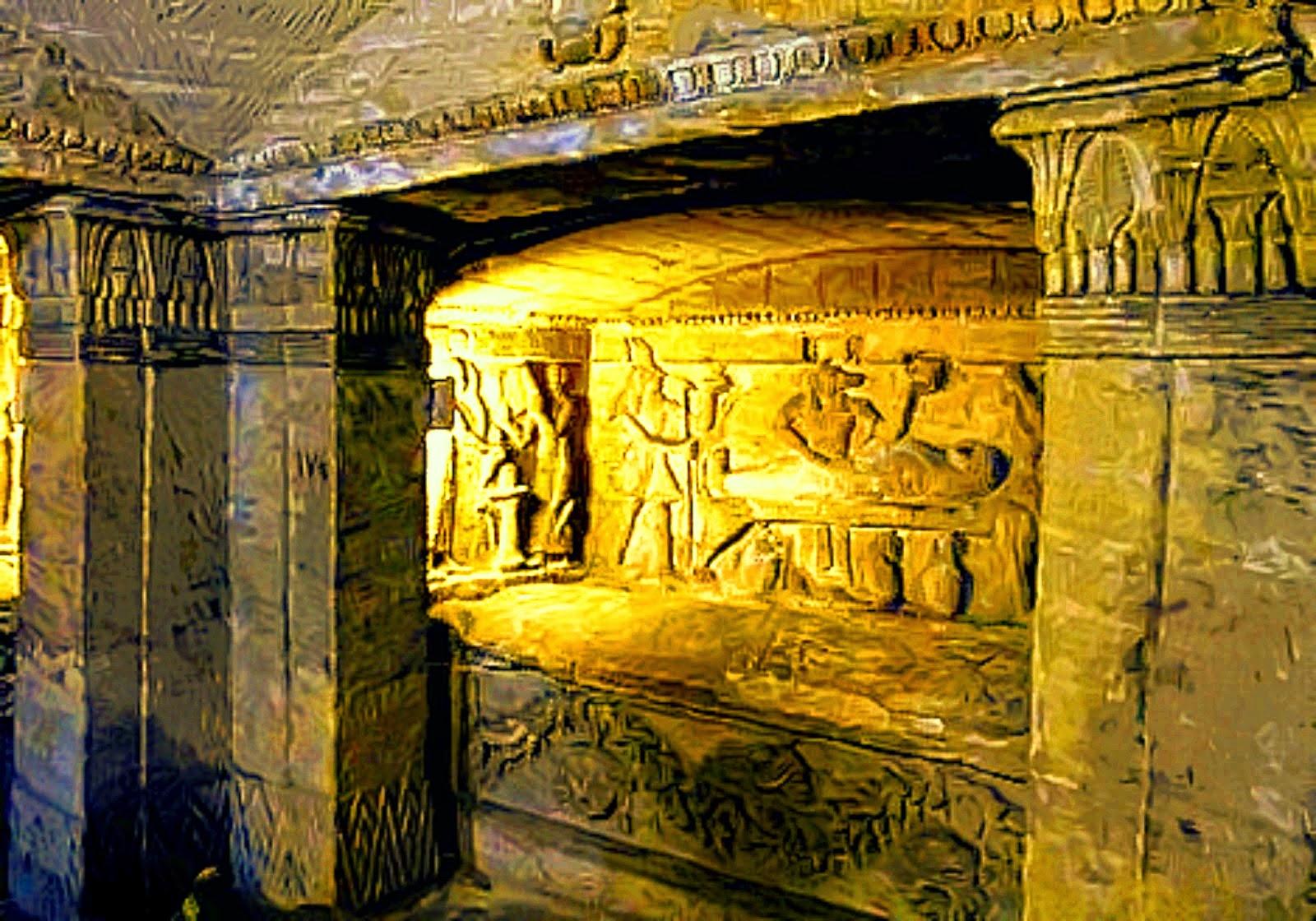 Catacombs associated with Kom ash-Shuqqafa