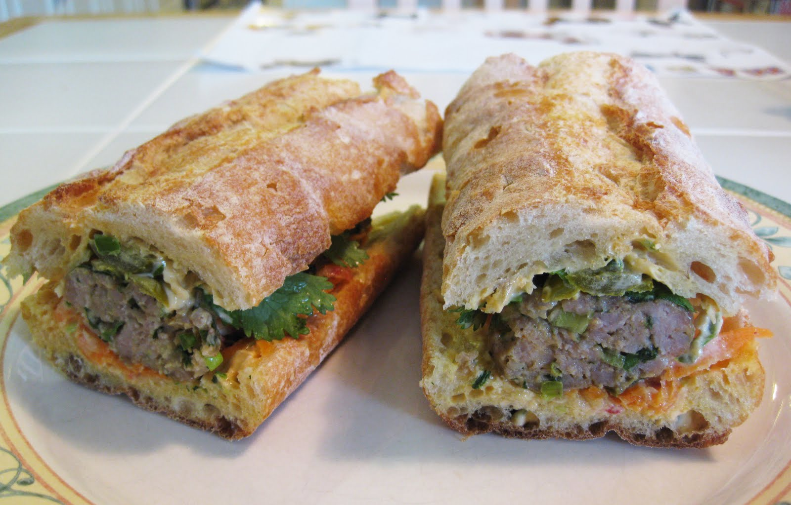 Bloatal Recall: Pork Meatball Banh Mi