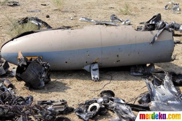 Mata-matai pusat nuklir, Drone Israel ditembak Iran