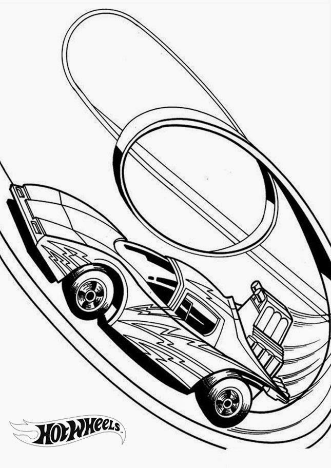 Hot Wheels Coloring Pages 16