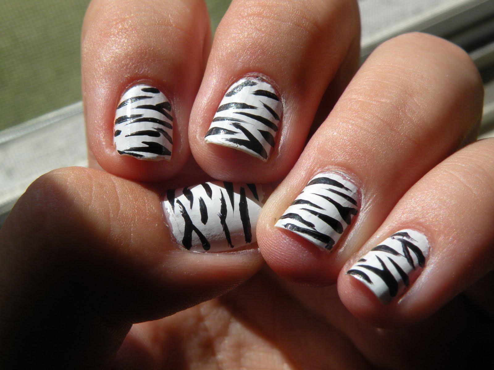Laura39;s Nail Art: animal print nails. - Nail Art Design Ideas ...