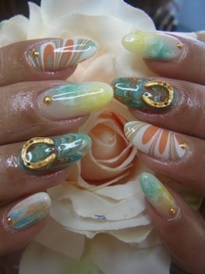 Bedazzled Nail Art Designs For Summer 2012 The Hot Lifestyles
