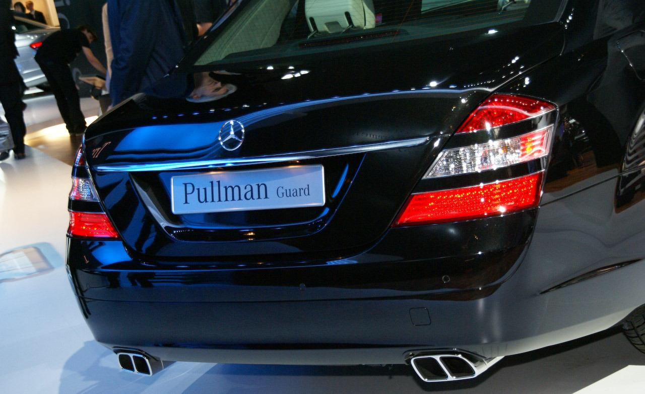 Toyota Of Pullman >> the best cars in the world: The Mercedes Benz S600 Pullman Guard , Presidential Limousines pictures