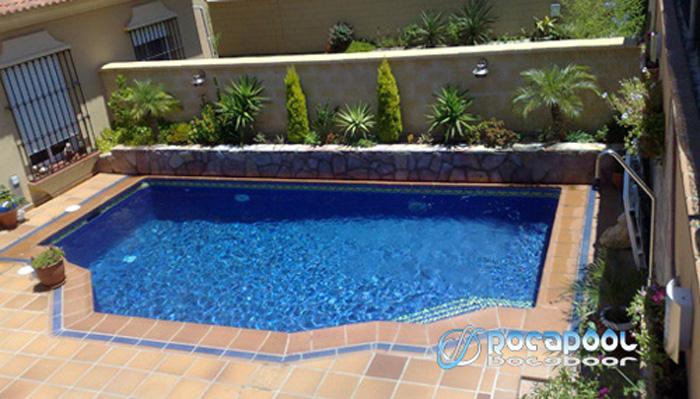 Tematizacion con rocas artificiales dise o y construcci n - Construccion de piscinas precios ...