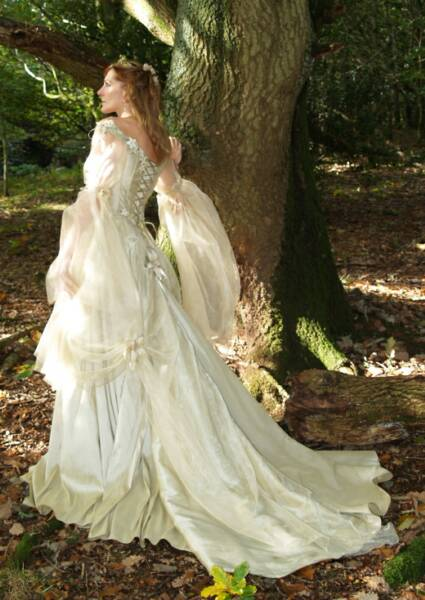 Fairy tales wedding dress design picture wedding dress for Medieval inspired wedding dresses