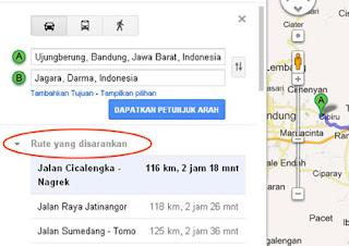 Gambar. 4 Google Maps Jagara, Darma-4
