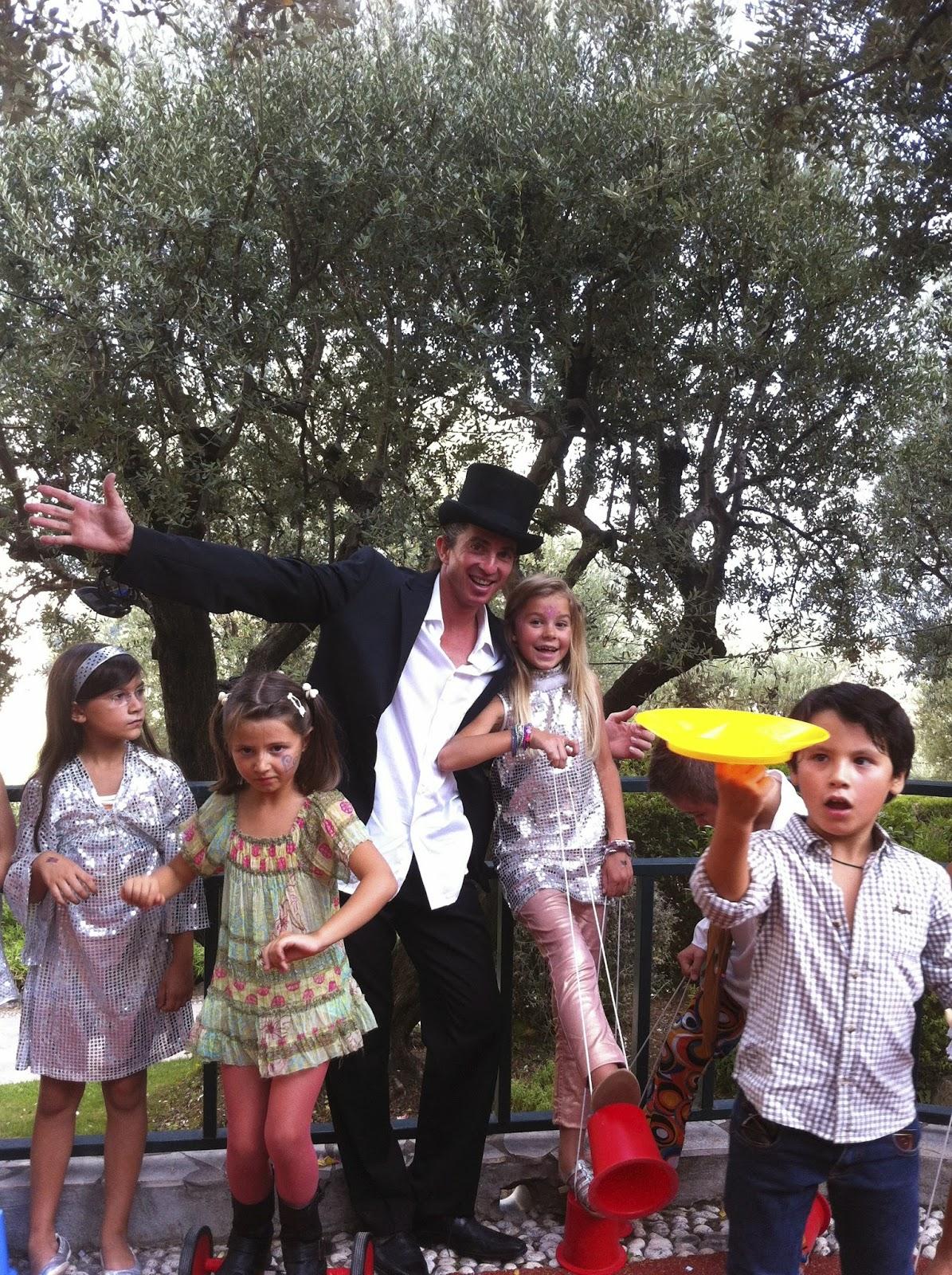 magicien Anniversaire Sylvain BOTTELLO