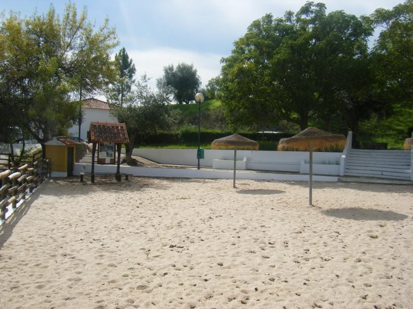 Areal junto ao Bar da Praia