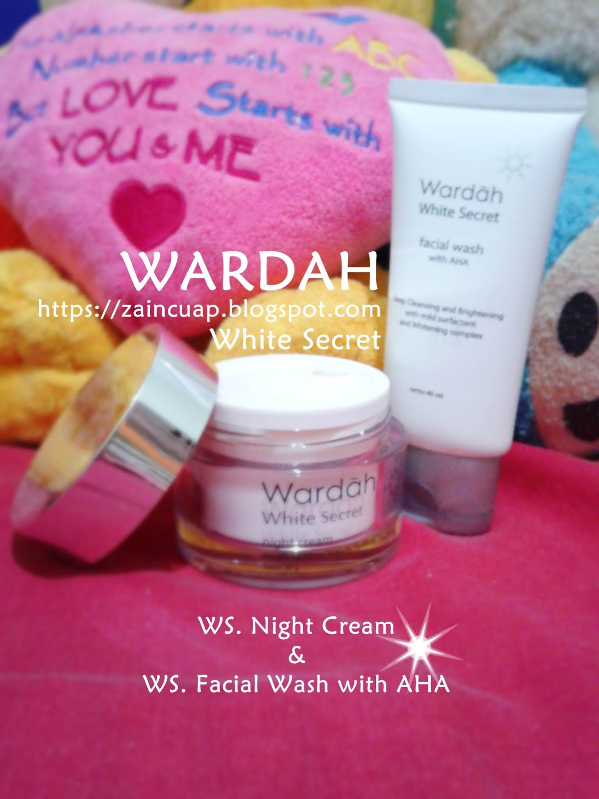 REVIEW WARDAH White Secret Nigth Cream And Facial Wash