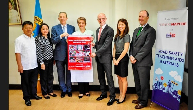 DepEd, Embassy of Spain, and Fundacion Mapfre Initiates Turnover of Road Safety Teaching Aids for Public Elementary Schools in PH