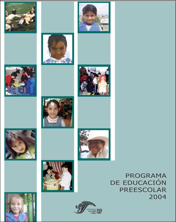 Programa de Estudios 2004 para Preescolar