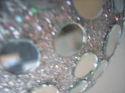 discokugel silber