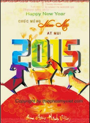 Những Lời Chúc Mừng Năm Mới 2015 Ất Mùi Tặng Bạn Bè Hay Nhất