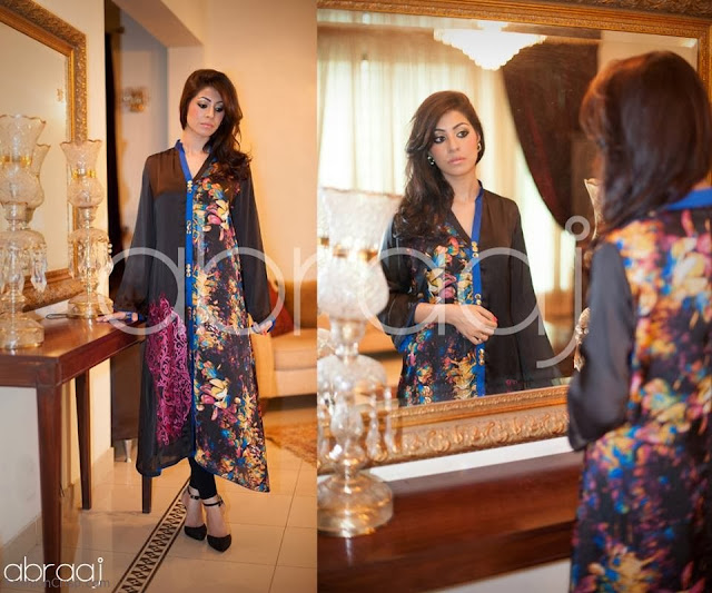 Abraaj Eid Collection 2013-2014 For Women By Fashion She9