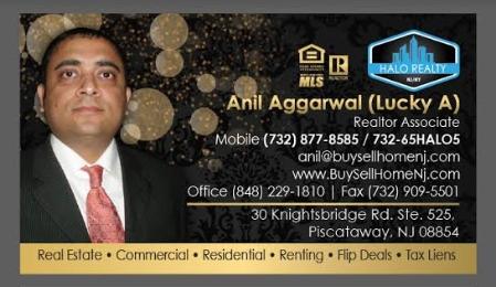 Call Realtor Anil Aggarwal