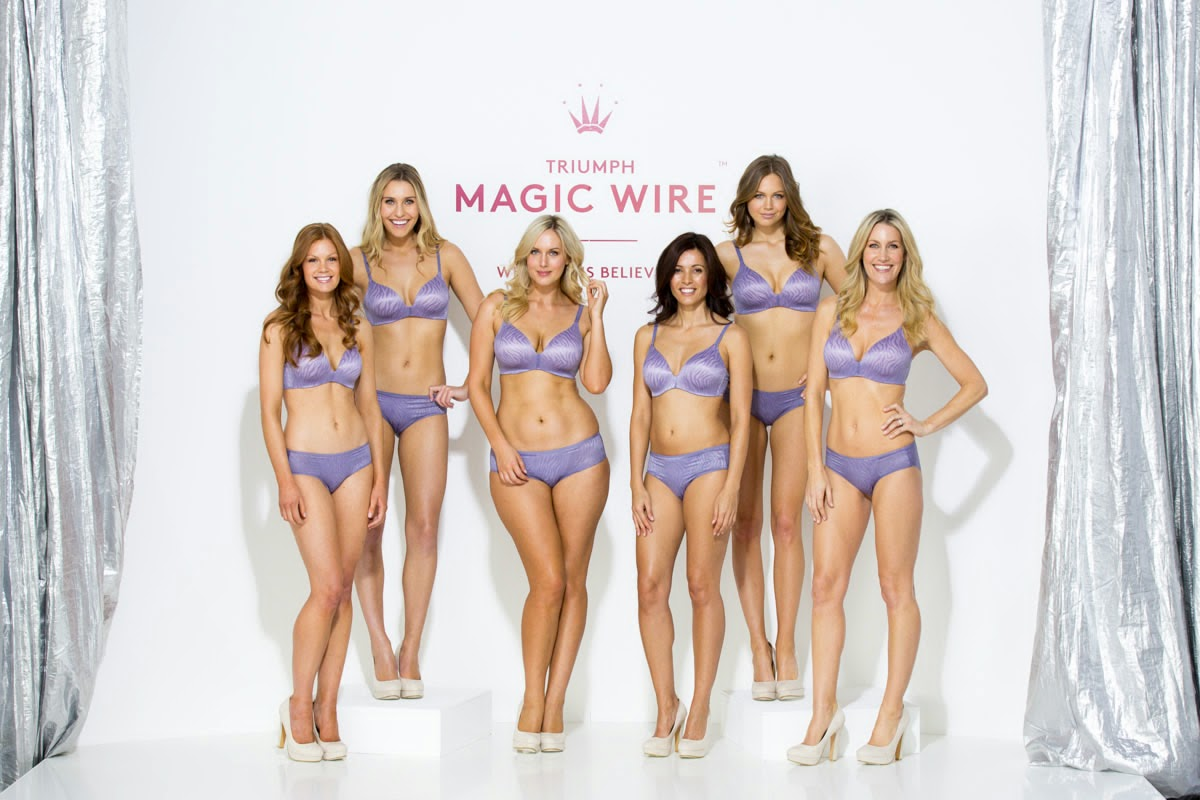 Triumph Magic Wire Bra, silicone bra