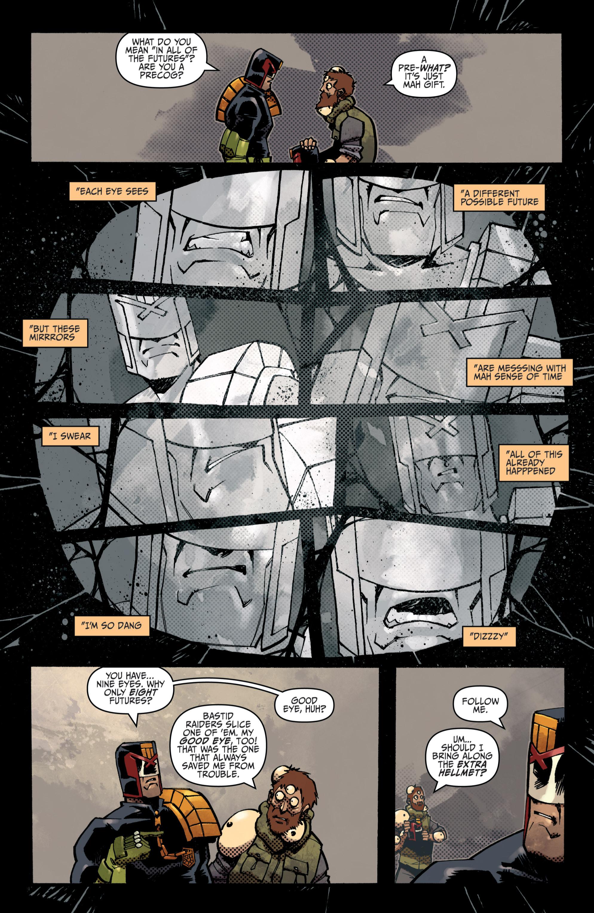 Read online Judge Dredd (2012) comic -  Issue # _TPB 3 - 28