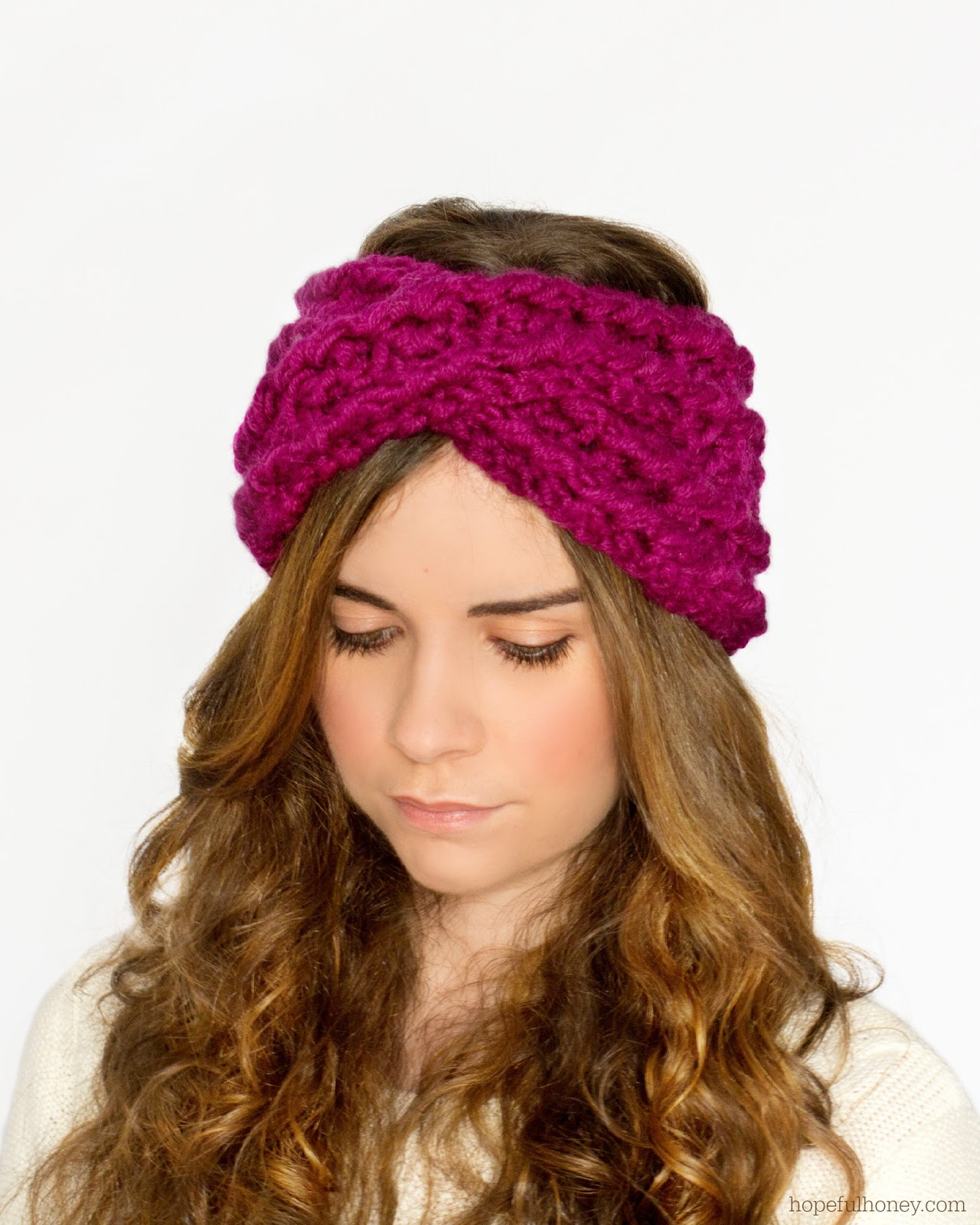 Free Knitting Pattern Chunky Headband : Criss Cross Headband Crochet Pattern Chunky Motorcycle Review and Galleries