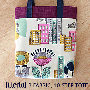 3-10 Tote Tutorial | The Inspired Wren