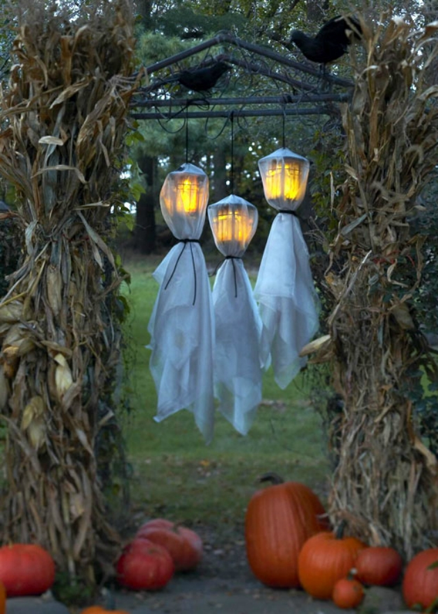 ghost lamps decoration for halloween