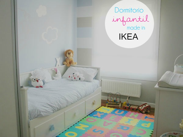 Habitaci n infantil made in ikea mummy and cute - Como pintar habitacion infantil ...