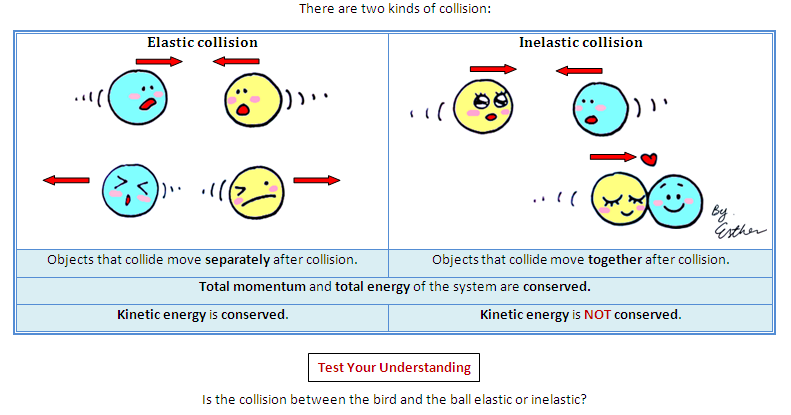 difference between elastic and inelastic collision pdf