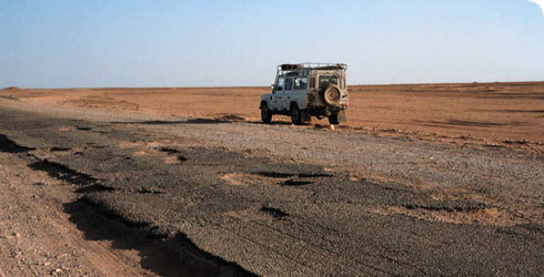 The Mines Oil Rigs And Roads Damage Sahara Desert By Destroying Natural With Potential Of Harming Habitat Flora Fauna