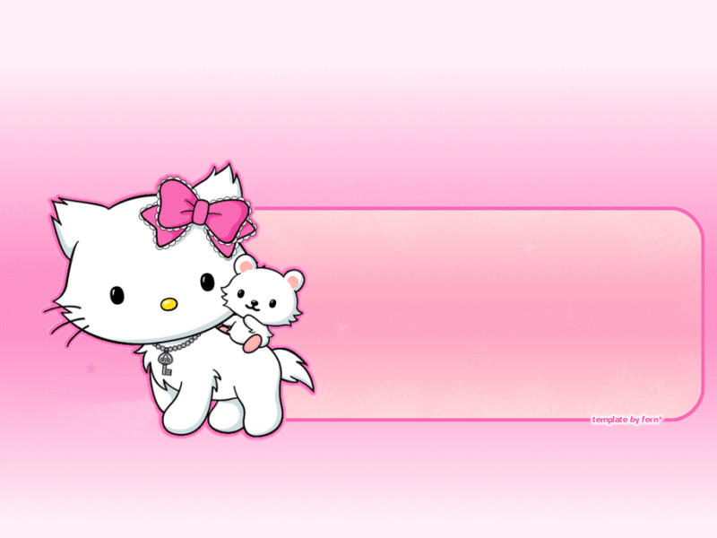 Hello Kitty PowerPoint Download