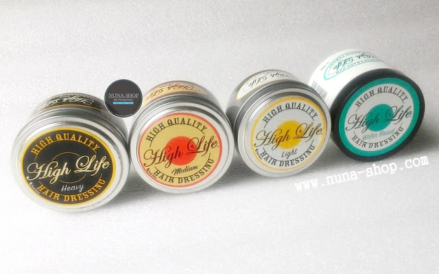 Produk High Life Pomade Oil Based & Waterbased Made In USA