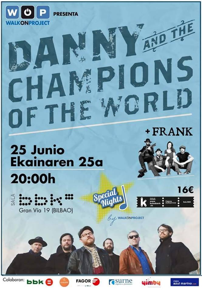 RECOMENDACIÓN!!! - 25/06/16<br> Sala BBK - Bilbao