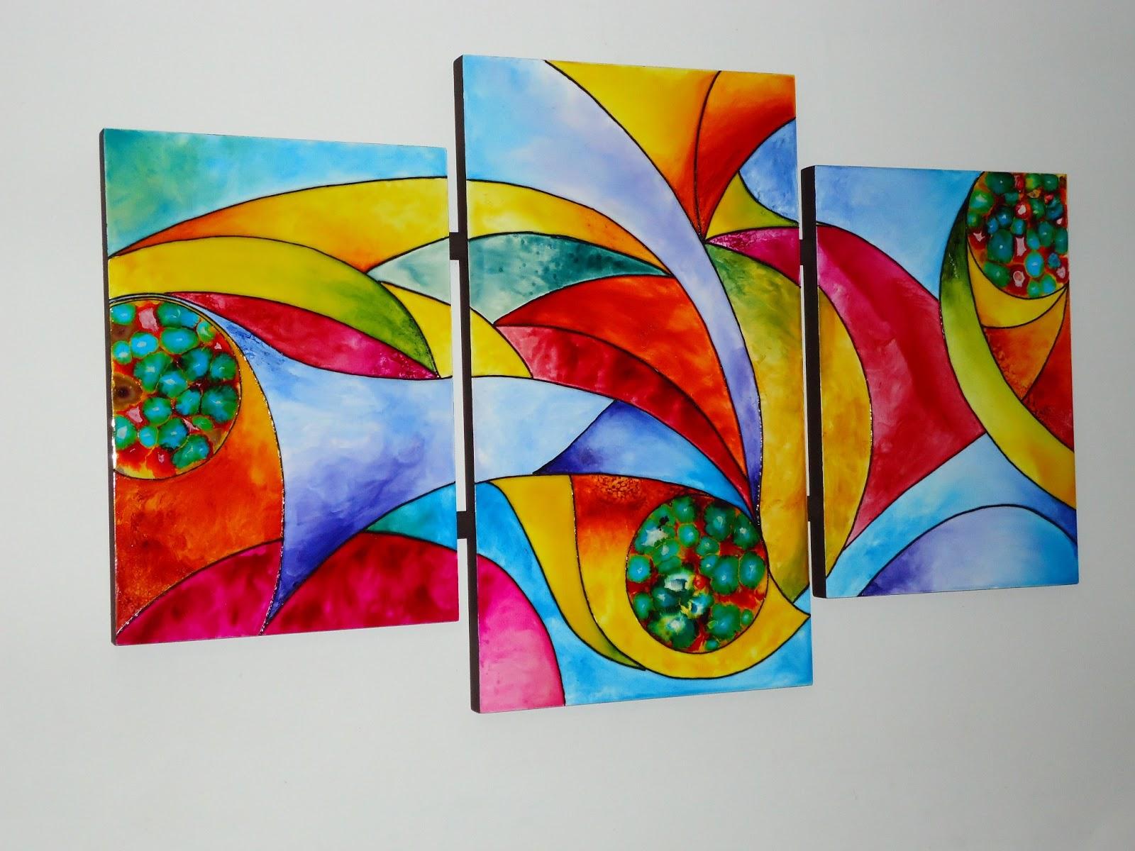 Artes y manualidades cuadros abstractos - Fotos cuadros abstractos ...