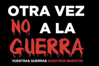 """""""no a la guerra, no a las guerras imperialistas"""""""